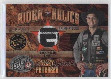 2009 Press Pass 8 Seconds - Rider Relics - Prime Pieces #RR-WP - Wiley Petersen /25