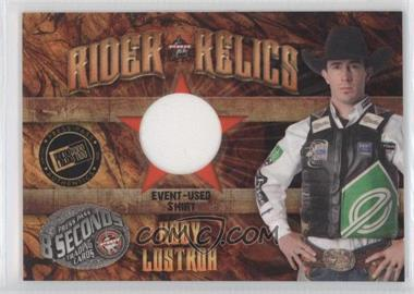 2009 Press Pass 8 Seconds - Rider Relics #RR-KL1 - Kody Lostroh