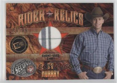 2009 Press Pass 8 Seconds - Rider Relics #RR-TM - Ty Murray