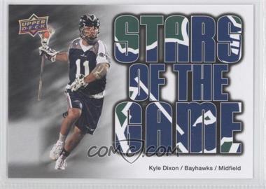 2010 Upper Deck Major League Lacrosse - [Base] #89 - Kyle Dixon