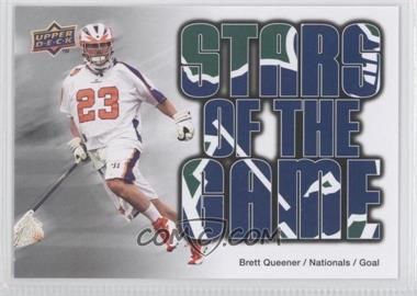 2010 Upper Deck Major League Lacrosse - [Base] #90 - Brett Queener