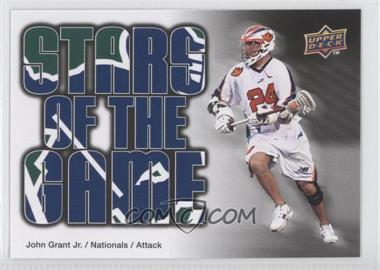2010 Upper Deck Major League Lacrosse - [Base] #92 - John Grant Jr.