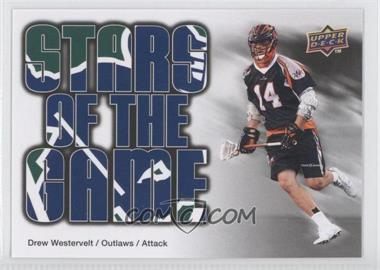 2010 Upper Deck Major League Lacrosse - [Base] #93 - Drew Westervelt