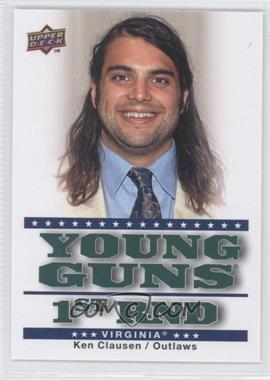 2010 Upper Deck Major League Lacrosse - [Base] #98 - Ken Clausen