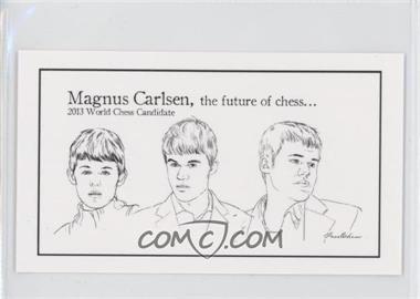 2013 FaceChess SE - [Base] #12 - Magnus Carlsen