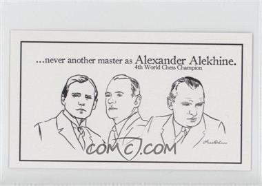 2013 FaceChess SE - [Base] #2 - Alexander Alekhine