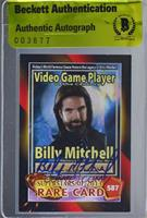 2013 Walter Day - Billy Mitchell [BAS Certified BAS Encased] #/2…