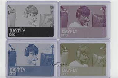2019 Upper Deck Overwatch League - [Base] - Printing Plate Set #84 - Dayfly /1