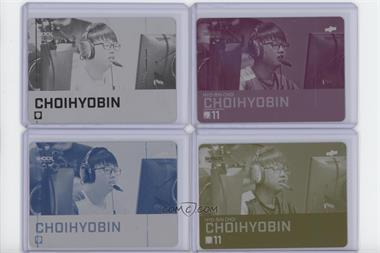 2019 Upper Deck Overwatch League - [Base] - Printing Plate Set #93 - ChoiHyoBin (Hyo-Bin Choi) /1