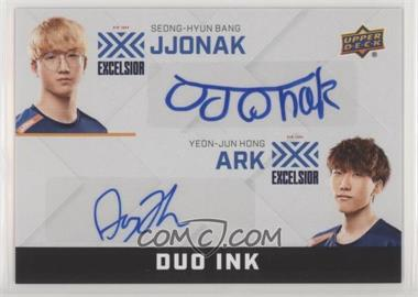 2019 Upper Deck Overwatch League - Duo Ink #DI-SY - JJoNak, ArK