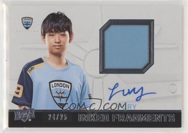 2019 Upper Deck Overwatch League - Inked Fragments #IFJ-FU - Fury /25