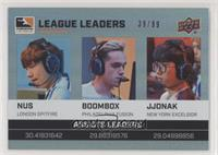 NUS, Boombox, JJoNak #/99