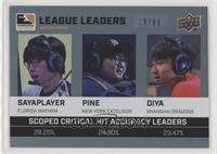 sayaplayer, Pine, Diya #/99