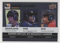 sayaplayer, Pine, Diya