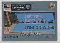 London Wins #/99