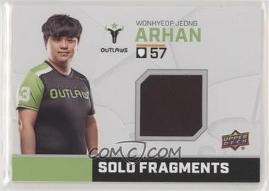 2019 Upper Deck Overwatch League - Solo Fragments #SF-AH - ArHaN