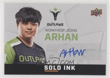 2019 Upper Deck Overwatch League - Solo Ink #SI-AH - ArHaN
