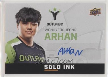 2019 Upper Deck Overwatch League - Solo Ink #SI-AH - ArHaN