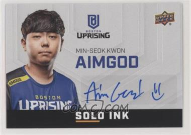 2019 Upper Deck Overwatch League - Solo Ink #SI-AI - AimGod