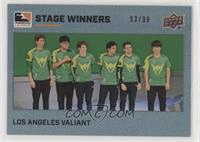 Los Angeles Valiant #/99