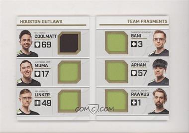 2019 Upper Deck Overwatch League - Team Fragments Booklet #TFB-4 - coolmatt, Muma, LiNkzr, Bani, ArHaN, Rawkus /40 [NearMint‑Mint+]