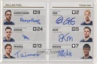 HarryHook, uNKOE, Taimou, OGE, aKm, Mickie #/20