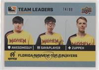 aWesomeGuy, sayaplayer, Zuppeh /99