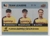 aWesomeGuy, sayaplayer, Zuppeh #/99