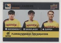 aWesomeGuy, sayaplayer, Zuppeh