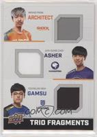 Architect, Asher, Gamsu