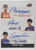 Architect, Asher, Gamsu