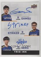 Gamsu, Striker, Neko