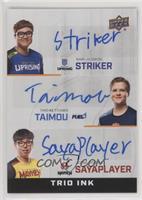 Striker, Taimou, sayaplayer
