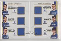 Fusions, Axxiom, blase, Colourhex, AimGod, Kellex #/30