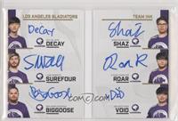 Void, ROar, Decay, Shaz, Surefour, BigG00se #/30