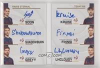 Greyy, Finnsi, ShaDowBurn, Kruise, Roni, SoOn #/30