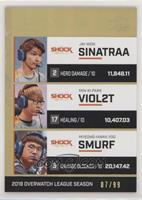 sinatraa, Viol2t, smurf #/99
