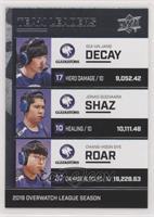 Decay, Shaz, Roar