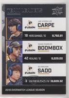 carpe, Boombox, Sado