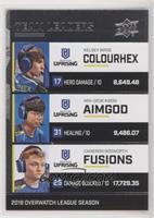 Colourhex, AimGod, Fusions