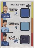 MekO, Gesture, Fusions