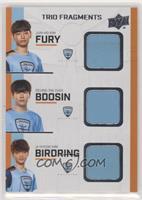 Fury, Bdosin, birdring