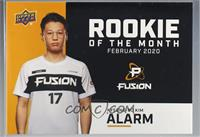 February - Alarm