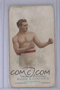 1887 Allen & Ginter's The World's Champions - Tobacco N28 #CHMI - Charlie Mitchell [Poor to Fair]