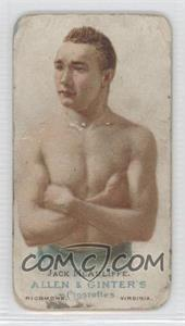 1887 Allen & Ginter's The World's Champions - Tobacco N28 #JAMC - Jack McAuliffe