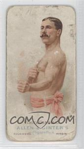 1887 Allen & Ginter's The World's Champions - Tobacco N28 #JICA - Jimmy Carroll [Poor to Fair]