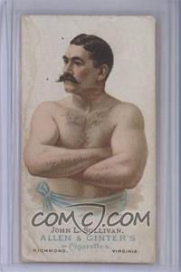 1887 Allen & Ginter's The World's Champions - Tobacco N28 #JOSU - John L. Sullivan [Poor]