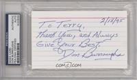 Don Burroughs [PSA/DNACertifiedCOASticker]