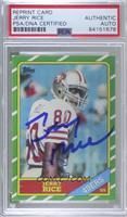 Jerry Rice [PSA Authentic PSA/DNA Cert]