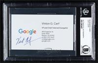 Vinton Cerf [BASCertifiedBGSEncased]
